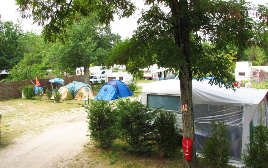 2-star campsite pitches aquitaine