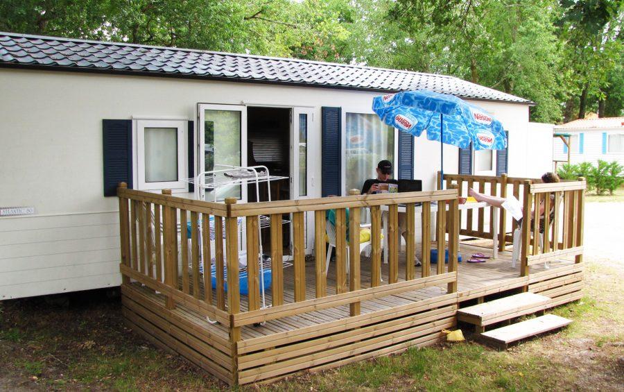 caravan rental 2-star campsite lesperon
