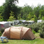 2-star campsite landes beside the sea with pitches