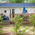 Caravan rental 2-star campsite landes