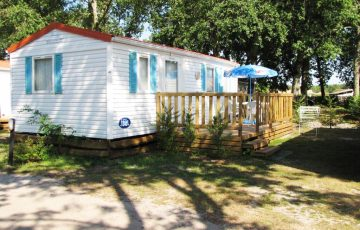 Location mobil-home camping lesperon landes